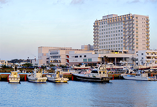 Hirara port