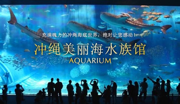 冲绳美丽海水族馆