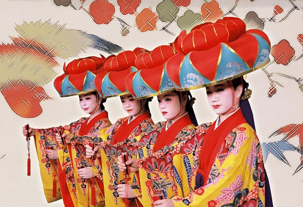 Traditional Costume That Represents Okinawa S Culture And