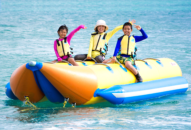 The Marine Activity of All Time - 5 Recommended Banana Boat Activities
