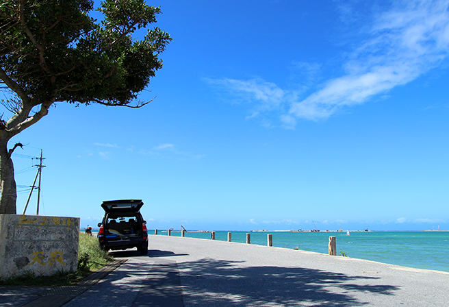A Tour with a Rental Car. 5 Recommended Ocean View Driving Course.