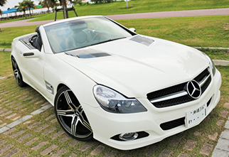 benz sl500 amg-menu
