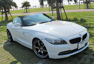 bmw new z4 roadster-menu
