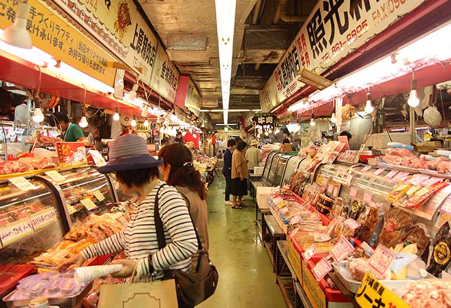 """""""可以体验到""""真实的冲绳""""之第一公营市场"""