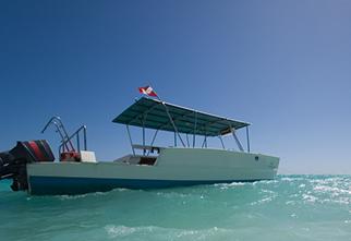 Scuba Diving Boat