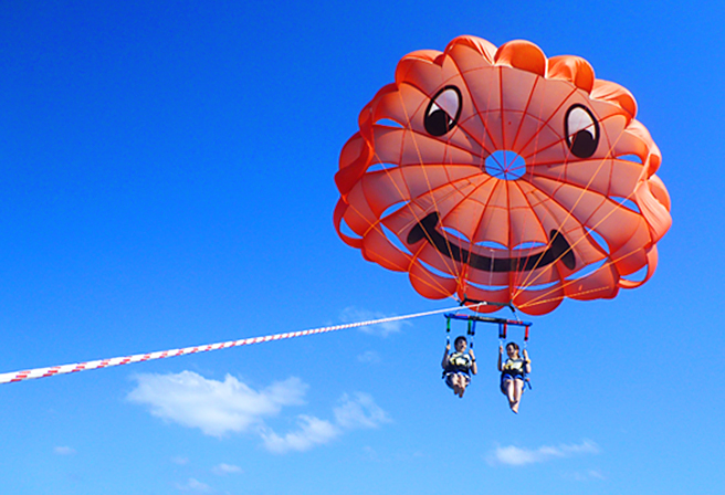 Okinawa's Nature Is All Yours! 5 Recommended Sky Activities