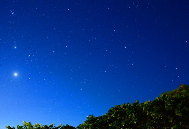 梅雨明け後の2〜3週間は、星空を見るのもベストシーズン!
