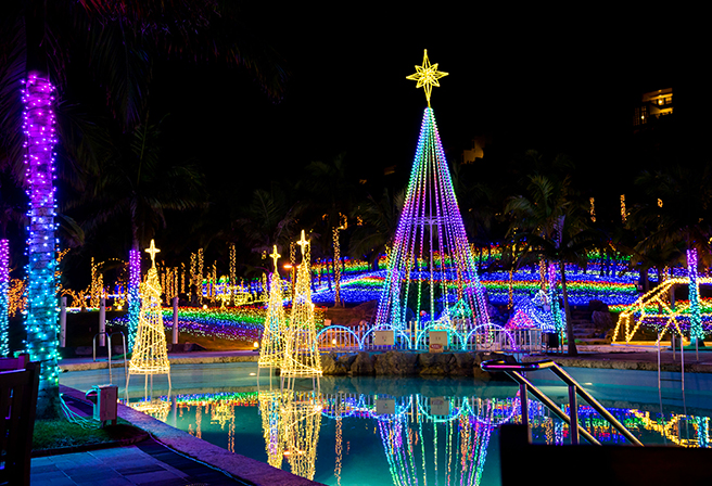 Season Special! Okinawa's Recommended Winter Illuminations