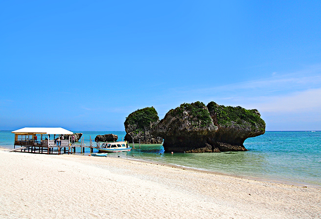 Southern Okinawa's Secluded Resort, Mibaru Beach