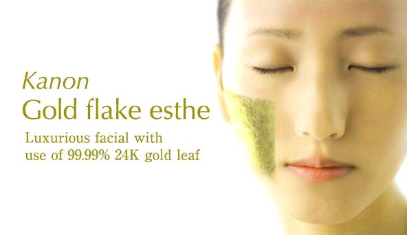 Kanon Gold flake esthe