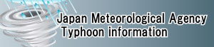 Japan Meteorological Agency typhoon information