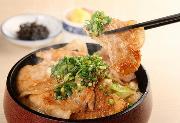 アグー生姜焼き丼