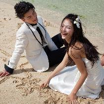 okinawa watabe wedding ビーチ ドレス・タキシード 写真210_210